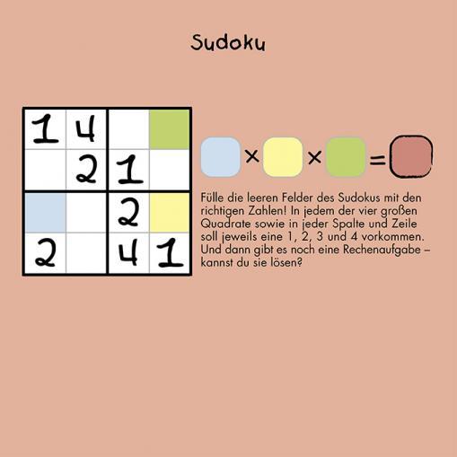 Sudoku - kostenlose Rätsel für Kinder